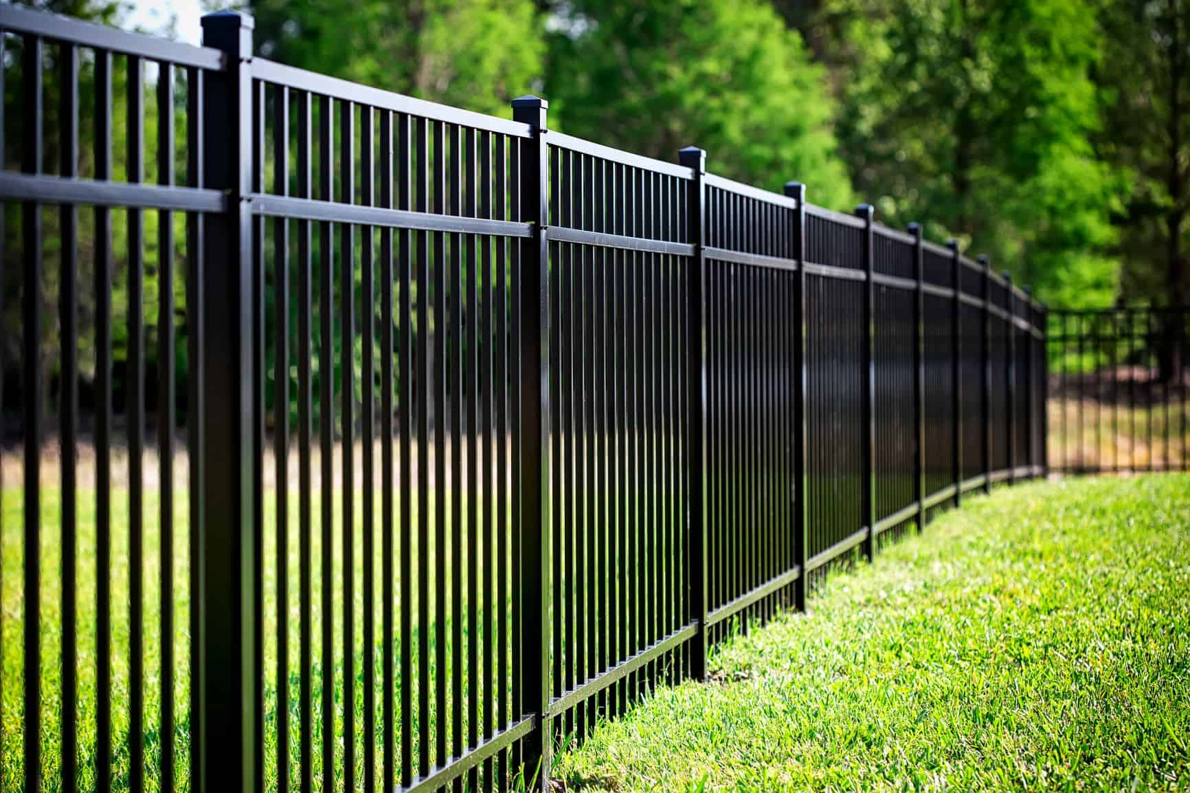 Aluminum fence High Point NC