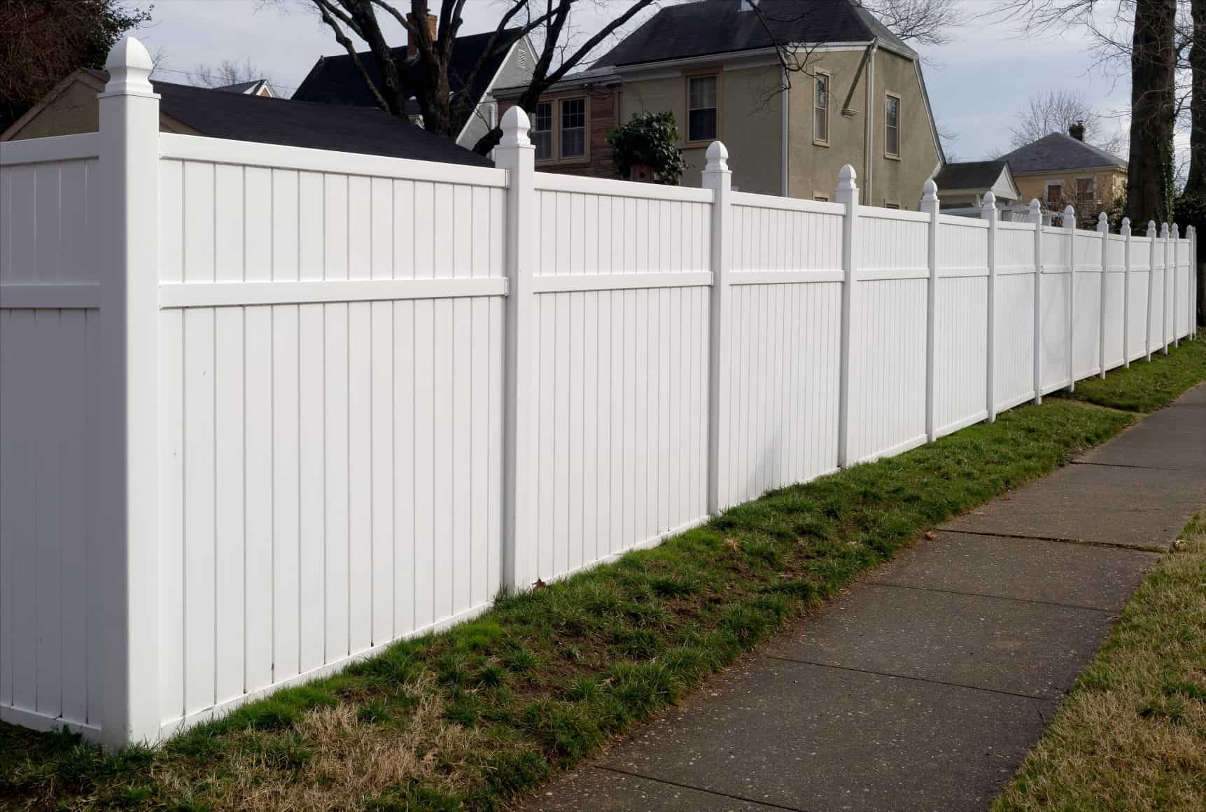 High Point NC Vinyl fence